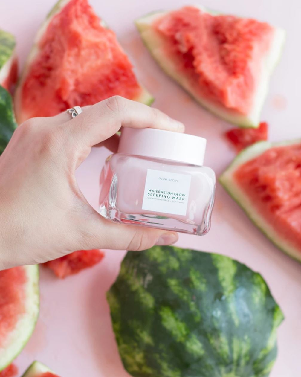 Check out Glow Recipe's Watermelon Glow Sleeping Mask
