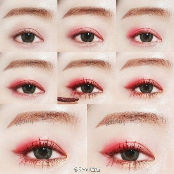 Korean girls LOVE vibrant colors such as bright pinks, corals and orange and it turned out so well in this tutorial! Many of your favorite Korean brands ...