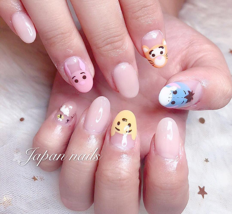 Winnie The Pooh Nails: Top 10 Kawaii Nail Designs!